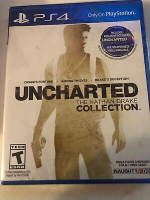 Uncharted: The Nathan Drake Collection (Sony PlayStation 4, 2015) PS4