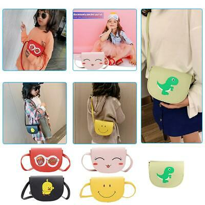 Kids Boy Girls Shoulder Bag Leather Handbag Cartoon Lovely Fashion Messenger Bag