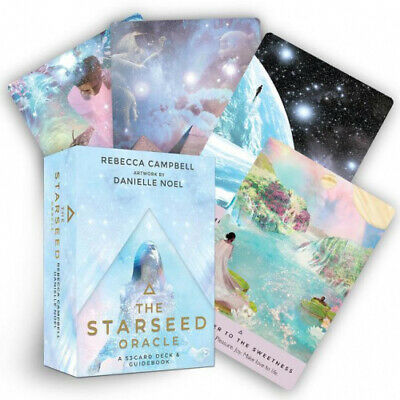 The Starseed Oracle: A 53-Card Deck and Guidebook by Rebecca Campbell.