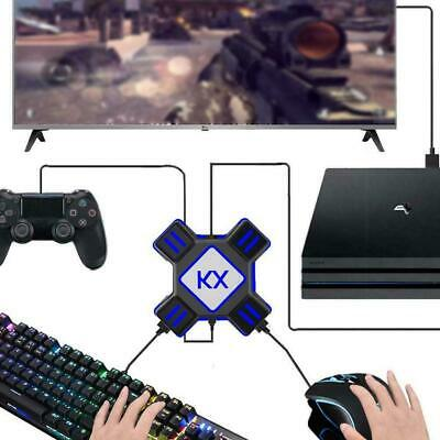 KX Gaming USB Keyboard & Mouse Converter PS3 PS4 APEX Adapter Universal O5Z1