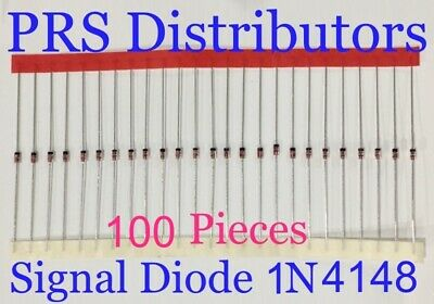 Diode 1N4148 Fast Switching Signal Diode Replaces Diode 1N914 100 Pcs USA Seller