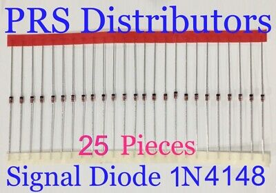 Diode 1N4148 Fast Switching Signal Diode Replaces Diode 1N914 25 Pcs USA Seller