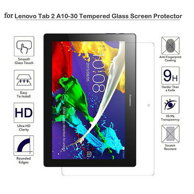 """GENUINE TEMPERED GLASS SCREEN PROTECTOR FILM FOR LENOVO Tab 2 10"""" A10-30 A10-70"""
