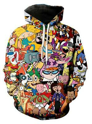 Funny 3D Print Graphic South Park Cartoon Sweatshirt Top Jumper Pullover AFRE6