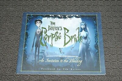 Tim Burton's Corpse Bride - An Invitation To The Wedding johnny depp halloween