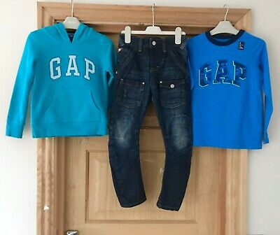 GAP NEXT BUNDLE *6y BOYS NEXT JEANS & GAP HOODIE / TOP Bundle AGE 6 YEARS (6-7 Y