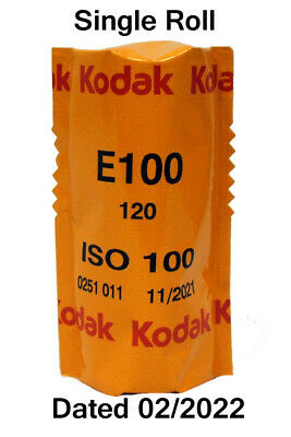 Kodak EKTACHROME E100 Slide 120 Roll Film Reversal Film