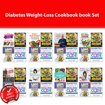 Diabetes Weight-Loss Cookbook Books Set Blood Sugar Diet, I Quit Sugar, Low-Carb