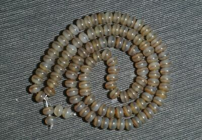 Chinese 100% Natural handcarved old agate one Line Pharmacist beads Bracelet