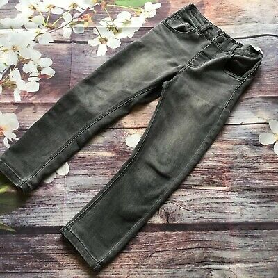 Next Boys Grey Jersey Jeans 4-5 Years