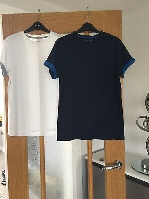 2 x Boy's River Island T Shirts (Size Xs)  Excellent Condition