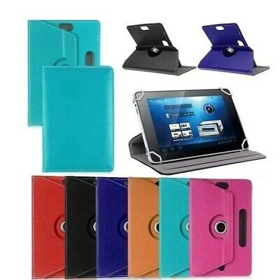"360 Rotate Universal Smart Case Cover For All Lenovo Tab Models 7"" 10"" Tablet"