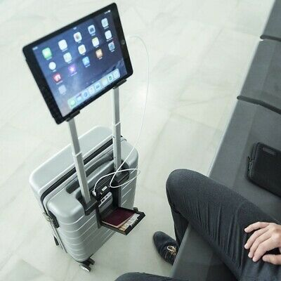 Trolley With Usb Charger And Support For Tablet (37,5 X 57 X 23 Cm)