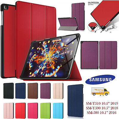 Magnetic Smart tri-fold Case Cover for Samsung Tab A 10.1 T510/T515 T580 /T585