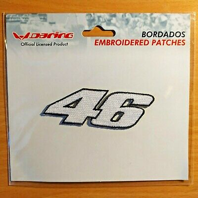 Patch écusson brodé VALENTINO ROSSI 46 Grand Prix Moto GP