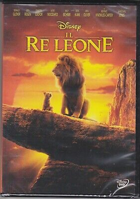 Dvd Disney IL RE LEONE - THE MOVIE - IL FILM - LIVE ACTION nuovo 2019