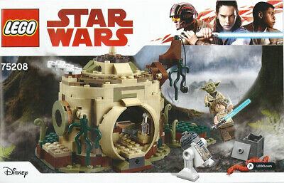 Lego Star Wars 75208 Yoda's Hut Instructions Only FREE SHIPPING