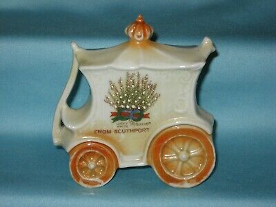 German china Coach* - FROM SOUTHPORT - Lucky White Heather