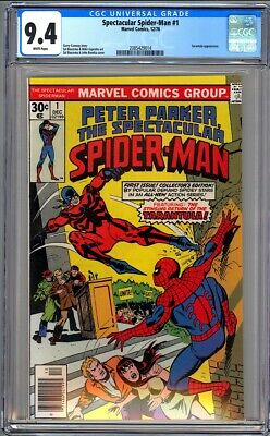 Peter Parker Spectacular Spider-Man #1 - Cgc 9.4 - Wp - Nm
