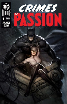 Dc Crimes Of Passion #1 Ryan Brown Exclusive Trade Dress 2/5