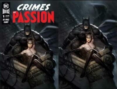 Dc Crimes Of Passion #1 Ryan Brown Exclusive Set 2/5
