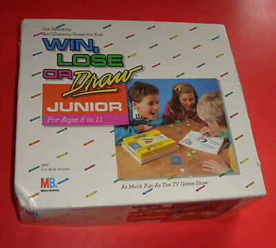 Win, Lose or Draw Junior Game 1988 99% Complete Without Instructions