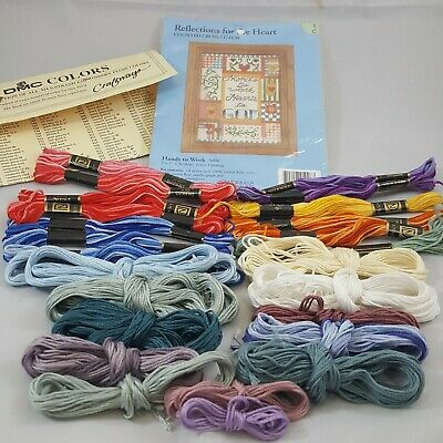 Embroidery Floss Lot arts crafts sewing thread notions counted cross stitch kit