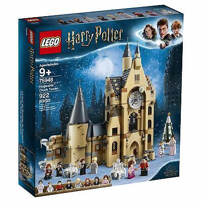 LEGO Harry Potter and The Goblet of Fire Hogwarts Clock Tower 75948 922 Pcs NEW