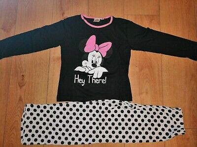 Girls Minnie Mouse Pyjamas Ages 2-3 4-5 6-7 8-9 Years
