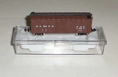 Various N Scale Box Cars From Various Manufacturers Trains Kraft Wabash Kahn/'s