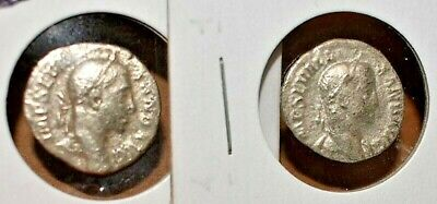 ANCIENT ROME Lot of 2 Silver Denarius coins from ROMAN EMPIRE Imperial period