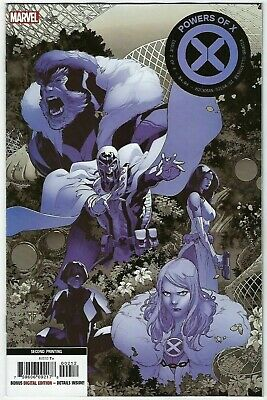 Powers of X  #2  Marvel 2019  2nd Print Variant  Cover NM Ch3 Free Ship Avail