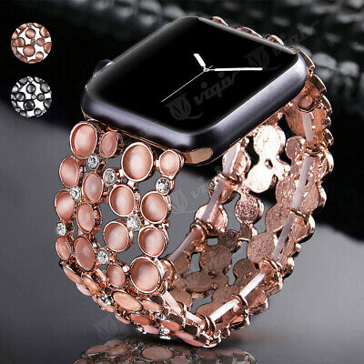 Bling Bracelet Wristwatch Band Strap For Apple Watch Series 4 2 3 1 Replacement