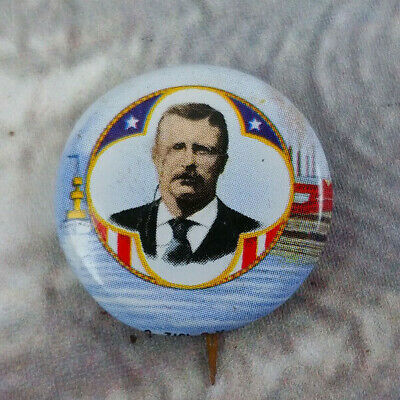 Cox//Roosevelt 1920 Political Campaign Button Reproduction Pin AMOCO set #14