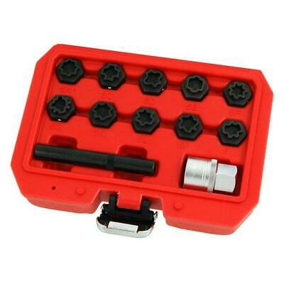 12pc Mercedes Benz  Locking wheel Nut Remover Installer Tool Master Kit