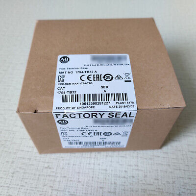 1794-TB32 Allen-Bradley I/O Terminal Base distributed Open Style,DIN Mount,IP20