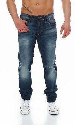 JACK & JONES - MIKE ORIGINAL GE201 - Comfort Fit - Blau Herren Jeans Hose