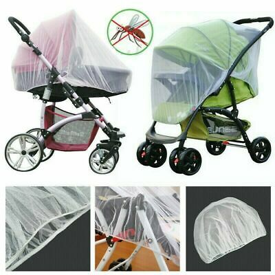 Mosquito Fly Insect Net Mesh Buggy Cover Baby Infant Stroller Pushchair Pram UK