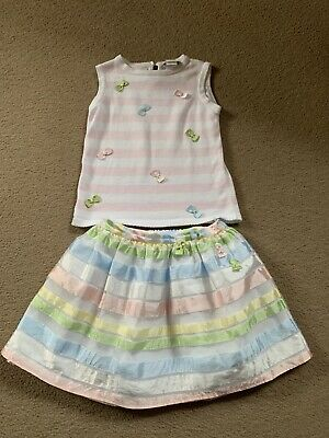Sarah Louise Age 6 Top & Skirt Set