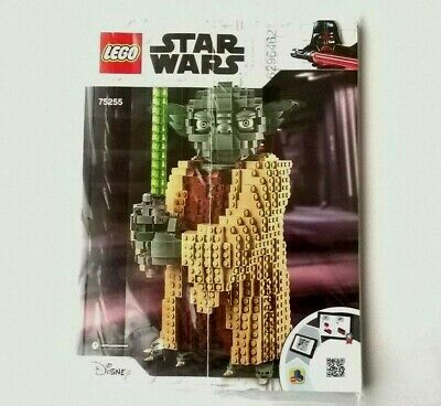 LEGO Star Wars 75255 Yoda Figure Model - Instruction Manual Booklet Book - NEW