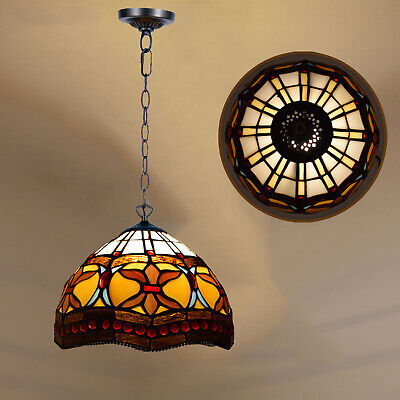 Antique Design TIFFANY Style Hand Crafted Pendant Lamp Lights Shade Home Decor