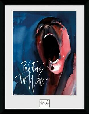 Pink Floyd - The Wall, Screan Framed Collector Poster (16x12in) #127607