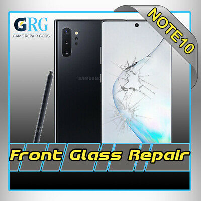Samsung Note 10+  Plus Cracked Screen Glass Repair Replacement Mail In Service