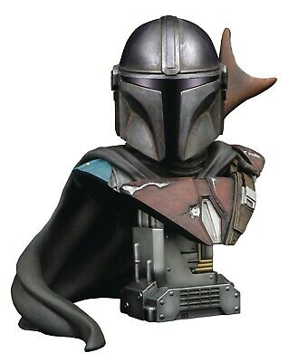 STAR WARS LEGENDS 3D MANDALORIAN BUST 1000ex Diamant Select preorder préco