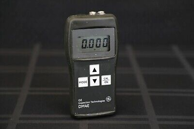 GE Inspections Krautkramer DM4E Ultrasonic Thickness Gauge-NDT-NDI-UT