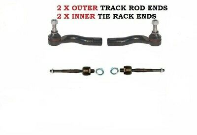 FOR Mazda RX8 2.6 1.3 FRONT INNER STEERING TIE TRACK ROD RACK END ENDS 02-12