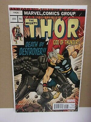 Thor: God of Thunder #14 1:20 Limited Edition Variant (2013 Marvel Comic Book)