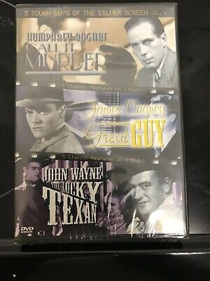 3 Tough Guys Of The Silver Screen - Vol. 1 - New And Sealed