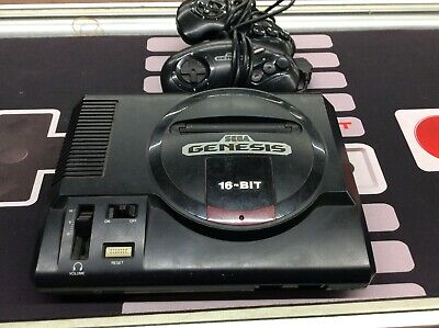 Sega Genesis Version 2 System Console with 2 Controllers And 9 Games