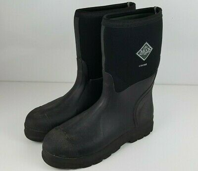The Original Muck Black Boot Company Waterproof Chore Mens Size 13